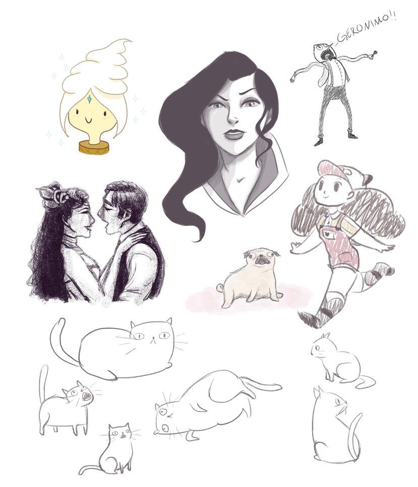 Sketch dump by bealor