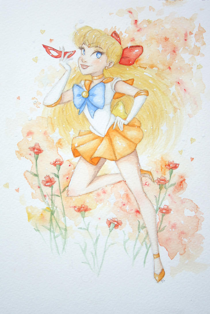 Sailor Venus by bealor