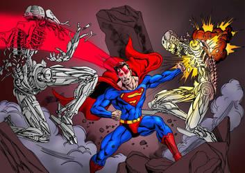 [Netherworld] Nether War ( Kalel / Banshee ) Superman_fighting_robots_by_pirrobo_d4262xf-250t.jpg?token=eyJ0eXAiOiJKV1QiLCJhbGciOiJIUzI1NiJ9.eyJzdWIiOiJ1cm46YXBwOjdlMGQxODg5ODIyNjQzNzNhNWYwZDQxNWVhMGQyNmUwIiwiaXNzIjoidXJuOmFwcDo3ZTBkMTg4OTgyMjY0MzczYTVmMGQ0MTVlYTBkMjZlMCIsIm9iaiI6W1t7ImhlaWdodCI6Ijw9OTA4IiwicGF0aCI6IlwvZlwvMmJmZjNjZGMtOTQ5Zi00YzlhLWE1NTctMWI4ZWIxNDRhMDU4XC9kNDI2MnhmLWVlODM2ODg5LTUzY2EtNGI0Ny1hNjc0LTU1ZjQ4NWE5N2UxNi5qcGciLCJ3aWR0aCI6Ijw9MTI4MCJ9XV0sImF1ZCI6WyJ1cm46c2VydmljZTppbWFnZS5vcGVyYXRpb25zIl19
