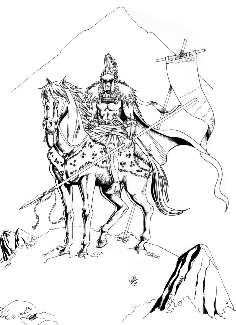 Alexander The Great Coloring Coloring