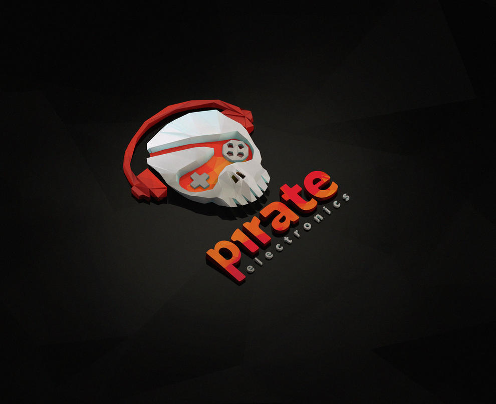 Digital Pirate Wallpaper by pipboy3000