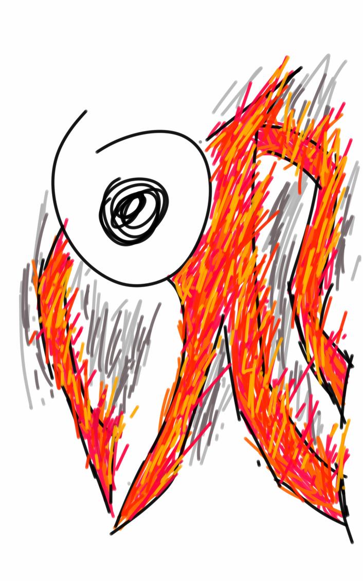 Burning by JiliK