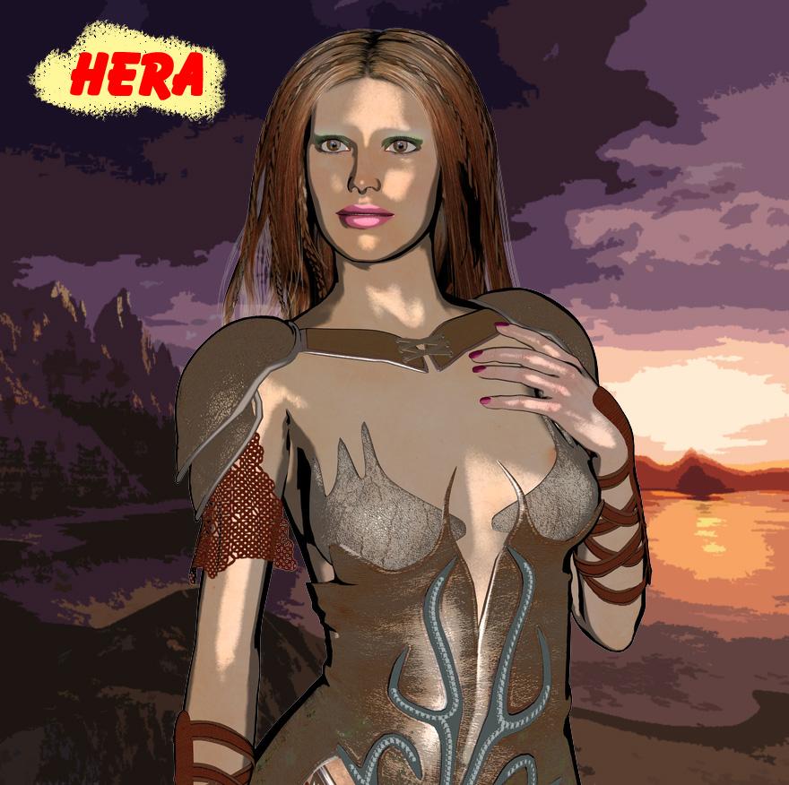 Hera by omicronia