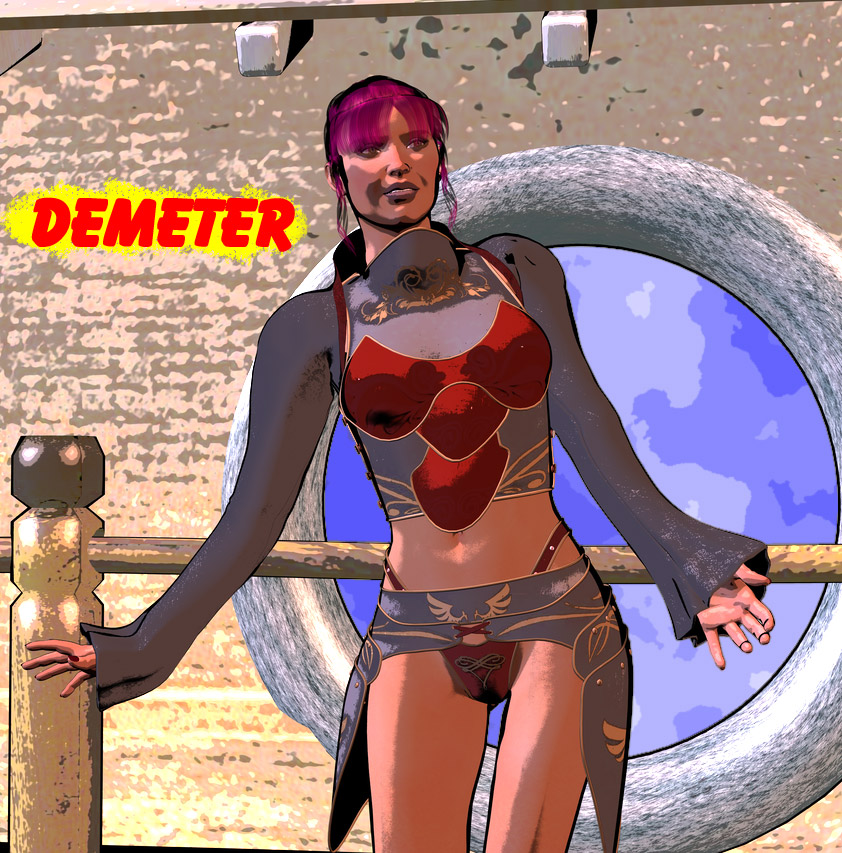 Demeter by omicronia