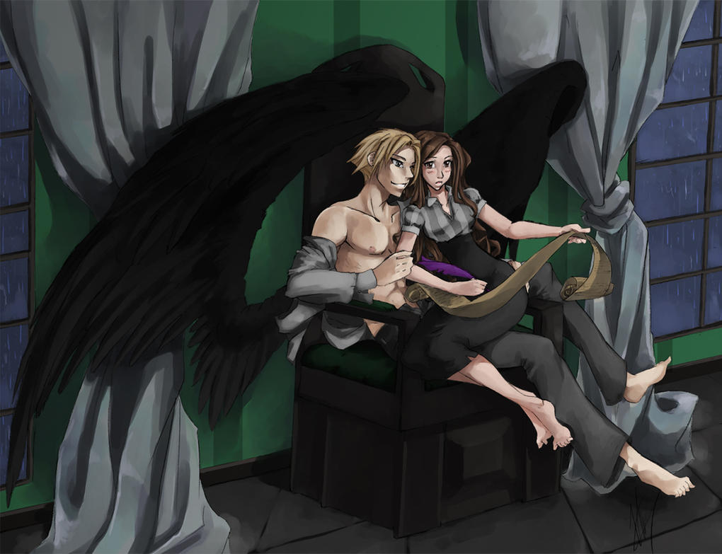 Hermione And Draco Veela Pictures to Pin on Pinterest ...