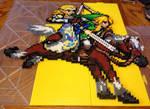 Legend of Zelda: Link, Zelda and Epona Perler Bead