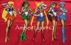 Inner Sailor Scouts Perler Bead Design