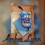 Aladdin's Genie Perler Bead Design
