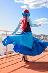 Jumping, dancing