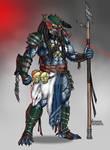 Commission Fenrir Predator w/ Mask