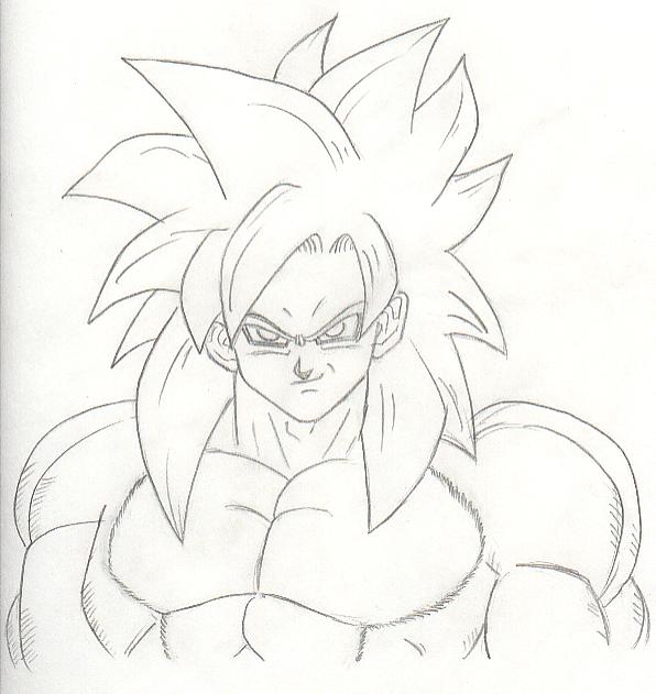 Kanji De Manga Vol 3 Cover Image How To Draw Goku Super Saiyan 4