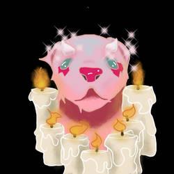 Mama ferret by Synthetic0Deity