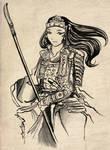 Tomoe Gozen - The Battle