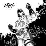 Inktober - Day 14 - Cobra Commander (2016)