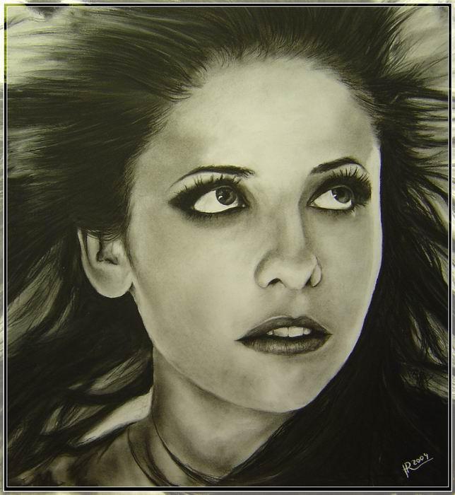 Sarah M. Gellar by HEXEnART