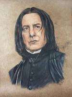 Severus Snape by HEXEnART
