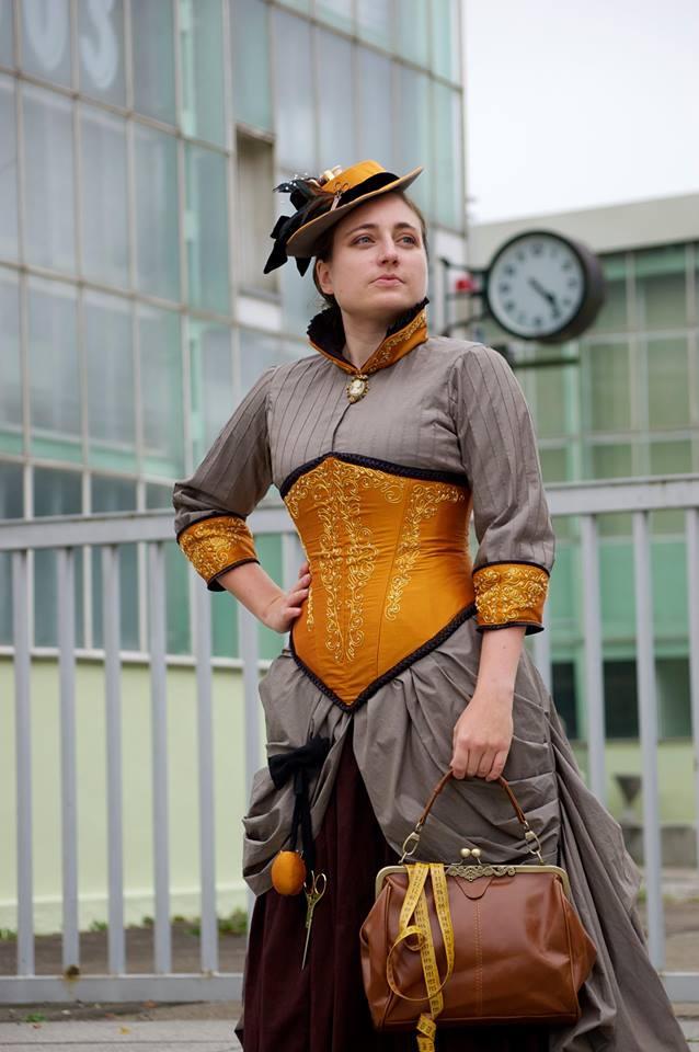 Steampunk Seamstress Dress