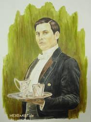 Thomas Barrow by HEXEnART
