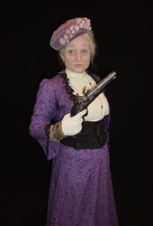 The Dowager Countess Got A Gun