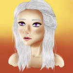 Mother of Dragons Digital Painting