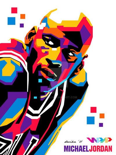 michael jordan vector art