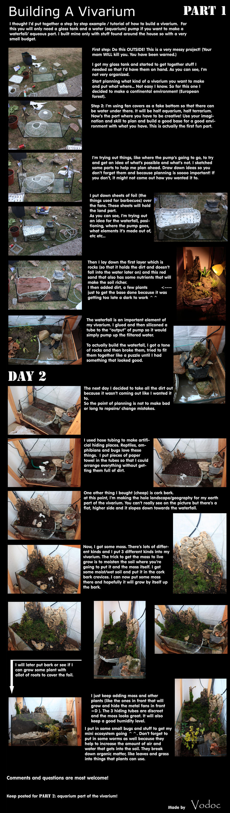 How to build a Vivarium by vodoc