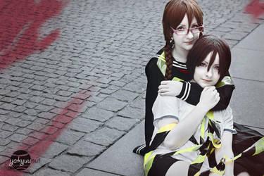 Orihara sisters by PineapplePandah