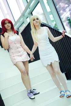 Kairi and Namine