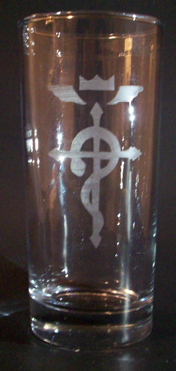 Fullmetal Alchemist Flamel Glass by sonic-skywalker
