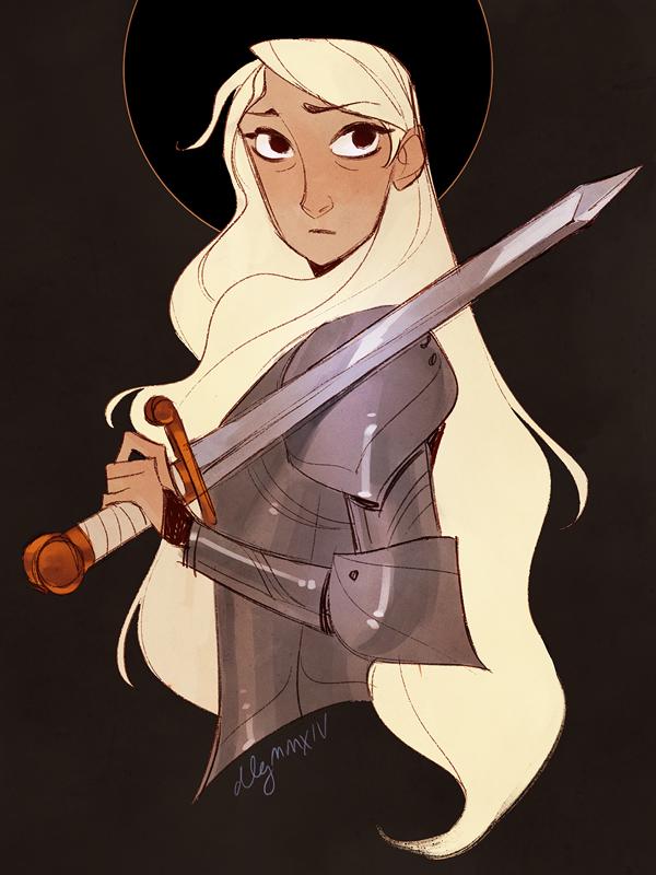 Joan of Arc by drawnbydana