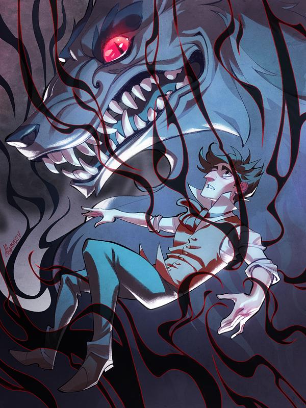 Bleeding Heart by drawnbydana