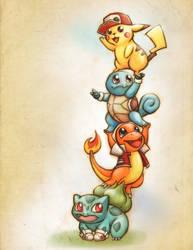 Pokemon: Red by bladesfire