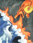 Absol VS Charizard
