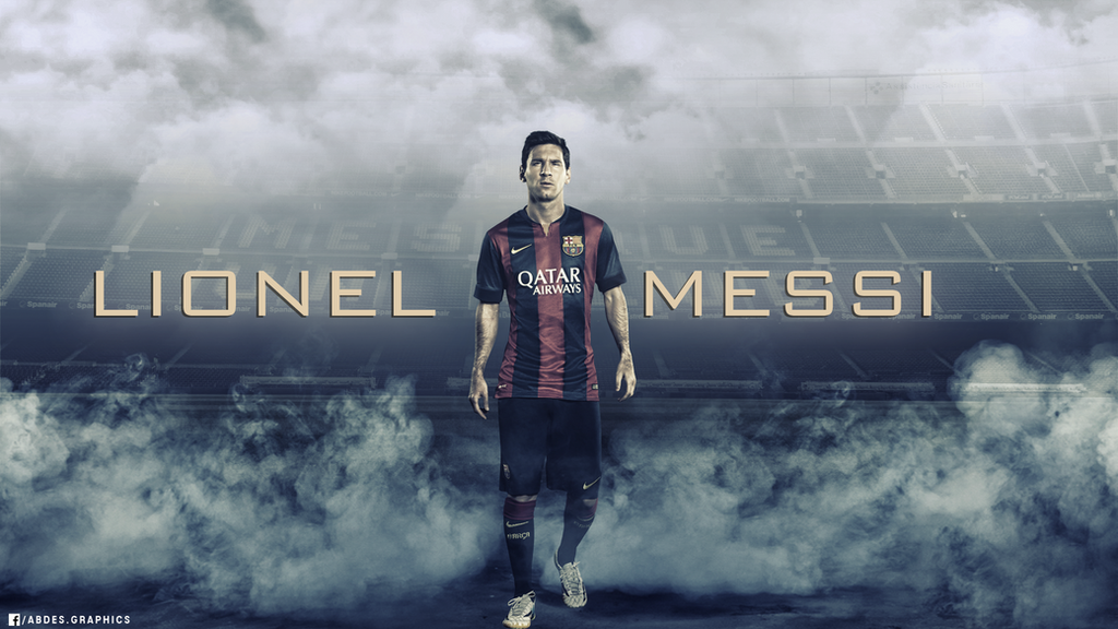 Lionel Messi 2015 HD Wallpaper By Abdessamad Zak