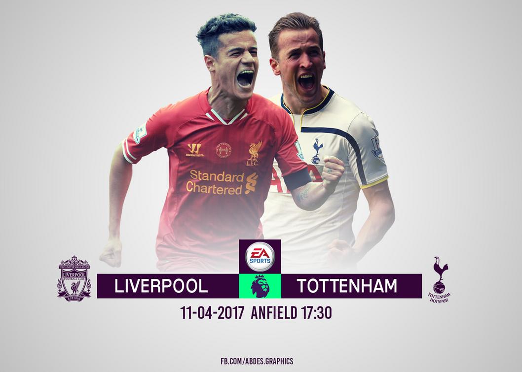 Liverpool Vs Tottenham  Abdes graphics by Abdessamad-zak