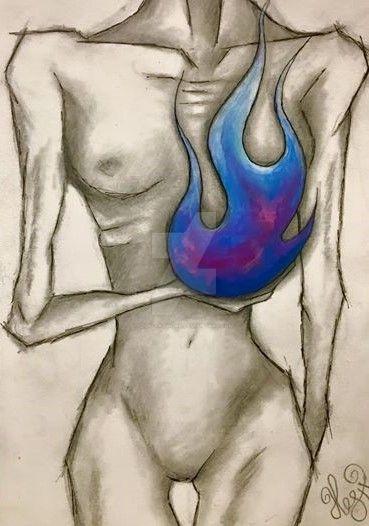 Blue flicker beat by Zilk-Artwork