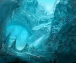 Ice Cavern by GeorgeLovesyArt