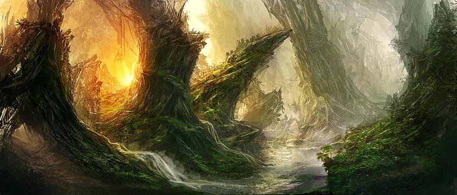 Forrest of Light by *Novum1