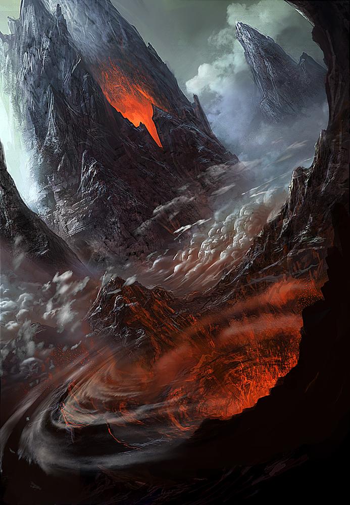 Vulcan Final by GeorgeLovesyArt