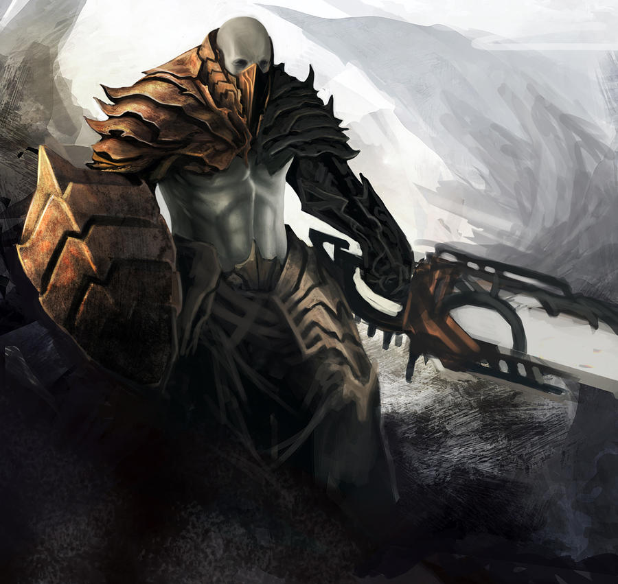 Dark Guardian by GeorgeLovesyArt