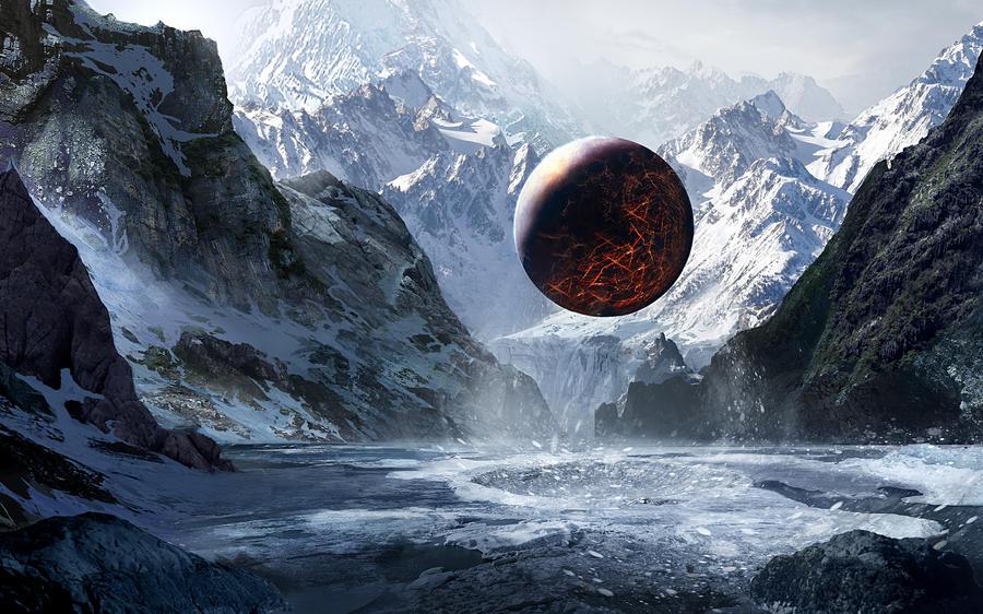 Valley Of God-Matte Paint By GeorgeLovesyArt On DeviantArt