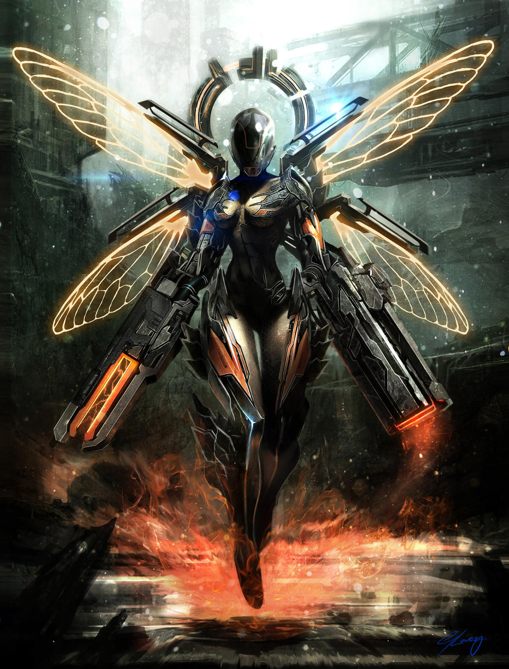 the war fairy by georgelovesyart on deviantart