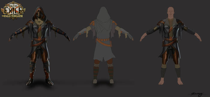 Path of Exile Wasteland Armour Set