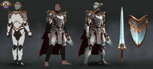 Path of Exile: Legion - Zenith Armour Set by GeorgeLovesyArt