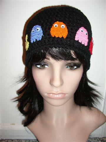 crochet PACMAN hat by Irenescrochet