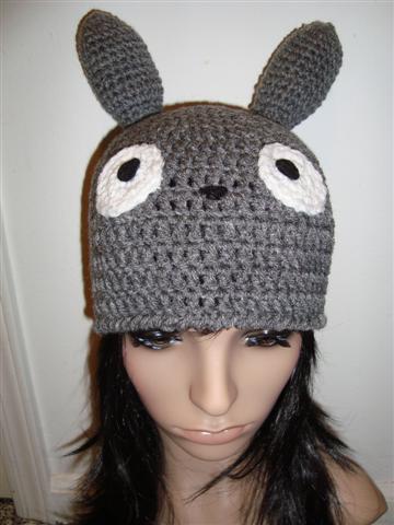 Crochet Pattern Totoro Hat : Pin Totoro Hat Pattern on Pinterest