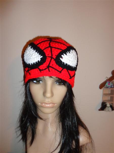 Spiderman Crochet Hat By Irenescrochet On Deviantart