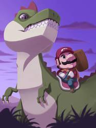 Mario's Smash Time by pegosho
