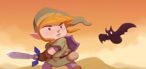 Link vs Bat