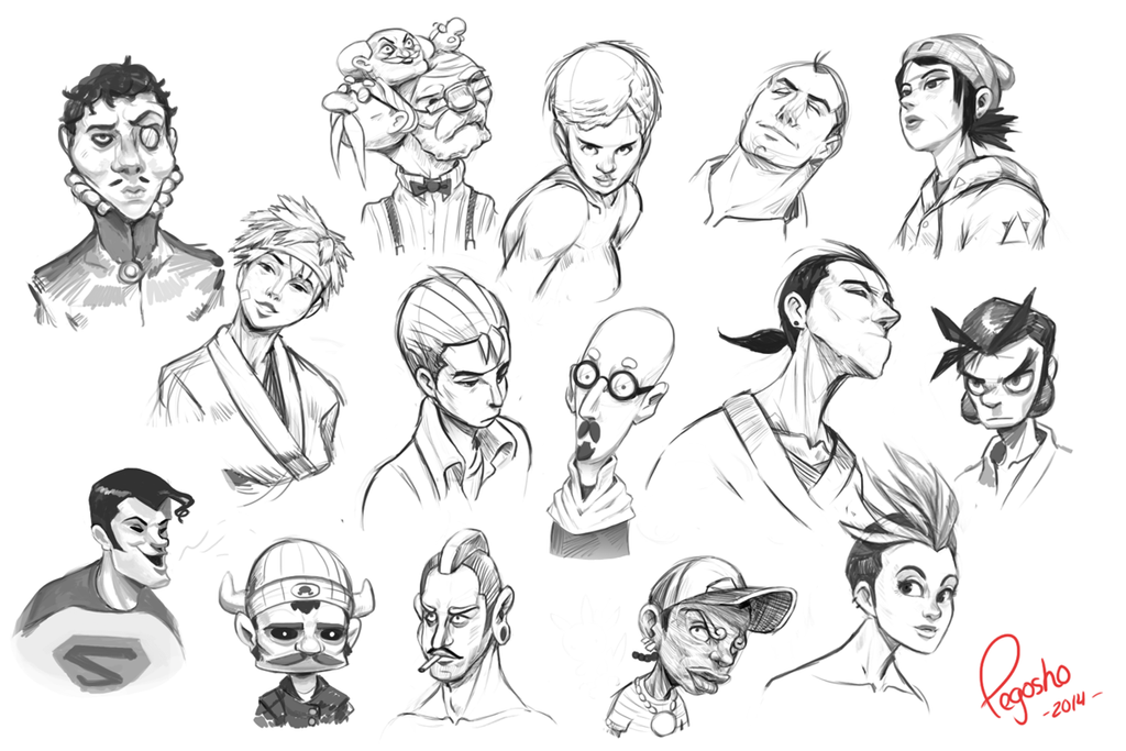 And even more sketchez by pegosho